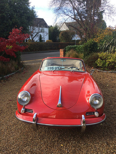 Porsche 356B Cabriolet 1959 For Sale (picture 3 of 6)