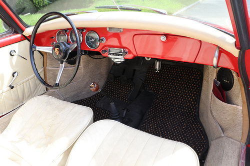 Porsche 356B Cabriolet 1959 For Sale (picture 5 of 6)