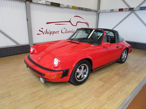 1977 Porsche 911S Targa Small Body / Sportomatic For Sale (picture 1 of 6)