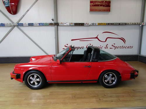 1977 Porsche 911S Targa Small Body / Sportomatic For Sale (picture 2 of 6)