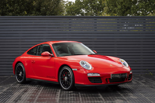 PORSCHE 911 (997) CARRERA GTS PDK COUPE, 2011  For Sale (picture 1 of 6)