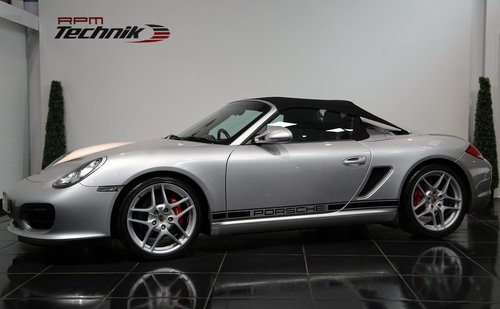2010 PORSCHE BOXSTER SPYDER For Sale (picture 1 of 6)