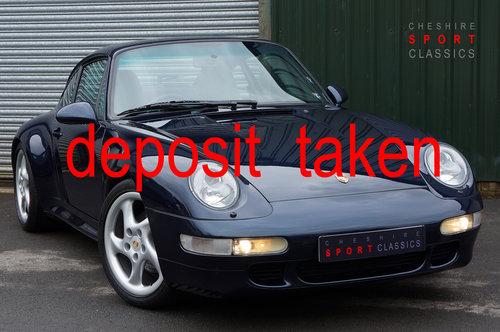 1996 Porsche 911 (993) Carrera 2S Coupe Tip, Ocean Blue, 65k FSH. SOLD (picture 1 of 6)
