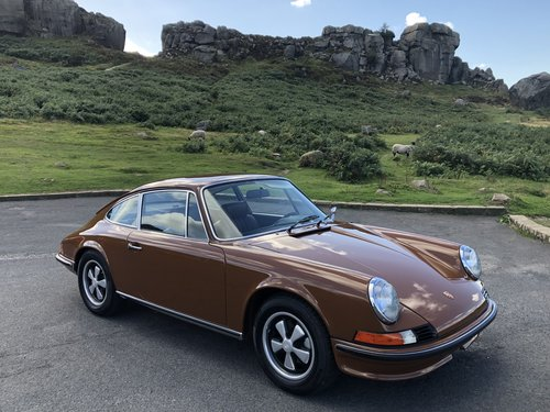 1973 Porsche 911 E 2.4 LHD For Sale (picture 1 of 6)