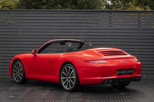 2012 Porsche 911 C2 Cabriolet (991) For Sale (picture 2 of 6)