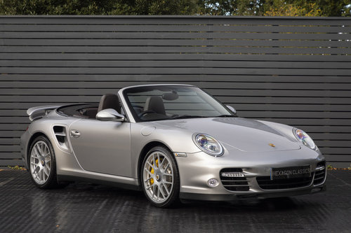 2010 Porsche 997 Turbo S Cabriolet  ONLY 1700 MILES For Sale (picture 1 of 6)