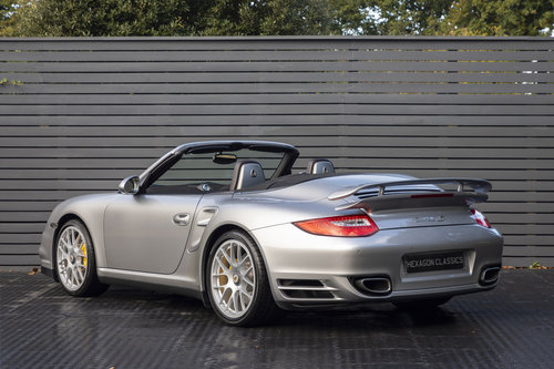 2010 Porsche 997 Turbo S Cabriolet  ONLY 1700 MILES For Sale (picture 2 of 6)