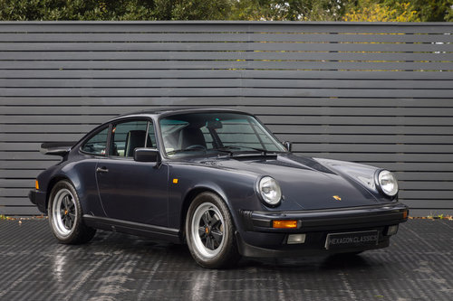 1988 PORSCHE 911 3.2 CARRERA SPORT COUPE G50 SOLD (picture 1 of 6)