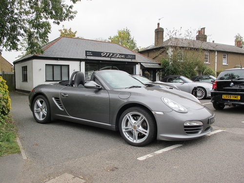 2011 Porsche Boxster (987) Generation 2 PDK 2.9 Convertible Sat-N For Sale (picture 1 of 6)