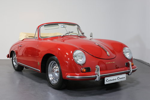 1959 Porsche 356 A (T2) 1600S cabriolet SOLD (picture 1 of 6)