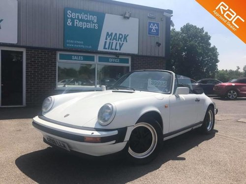 1983 Porsche 911 CABRIOLET 3.0 2dr only 74k For Sale (picture 1 of 6)