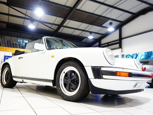 1983 Porsche 911 CABRIOLET 3.0 2dr only 74k For Sale (picture 2 of 6)