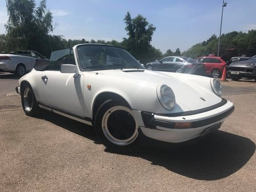 1983 Porsche 911 CABRIOLET 3.0 2dr only 74k For Sale (picture 3 of 6)