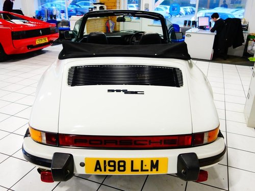 1983 Porsche 911 CABRIOLET 3.0 2dr only 74k For Sale (picture 4 of 6)