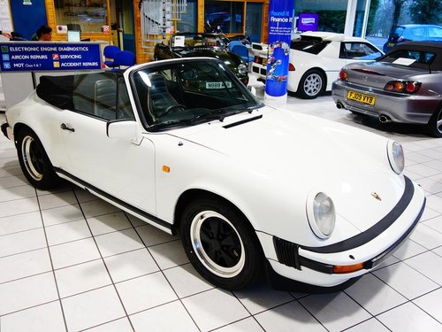 1983 Porsche 911 CABRIOLET 3.0 2dr only 74k For Sale (picture 6 of 6)