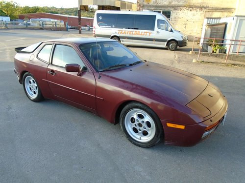 PORSCHE 944 TURBO LHD 5 SPEED COUPE(1986) RED 99% RUSTFREE! SOLD (picture 1 of 6)