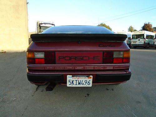 PORSCHE 944 TURBO LHD 5 SPEED COUPE(1986) RED 99% RUSTFREE! SOLD (picture 4 of 6)