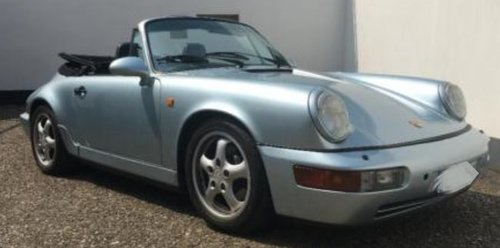 1991 PRICE REDUCTION - RHD 964 C2 Cabrio tiptronic in GERMANY For Sale (picture 1 of 6)