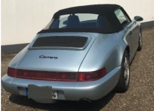 1991 PRICE REDUCTION - RHD 964 C2 Cabrio tiptronic in GERMANY For Sale (picture 3 of 6)