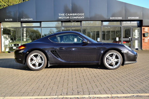 2011 Porsche Cayman 2.9 (987) SOLD (picture 1 of 6)