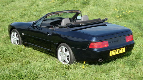 1994 Porsche 968 Cabriolet Tiptronic 42,000 miles from new F For Sale (picture 1 of 6)