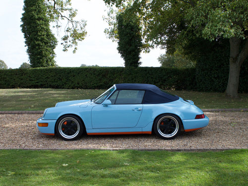 1990 Porsche 964 Carrera 4 Cabriolet Supercharged For Sale (picture 2 of 6)