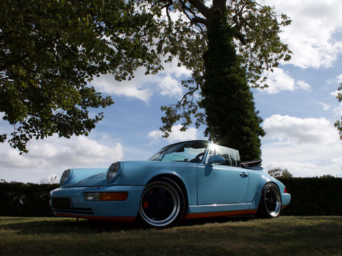 1990 Porsche 964 Carrera 4 Cabriolet Supercharged For Sale (picture 4 of 6)