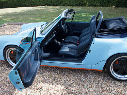 1990 Porsche 964 Carrera 4 Cabriolet Supercharged For Sale (picture 5 of 6)