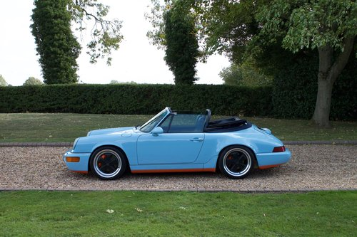 1990 Porsche 964 Carrera 4 Cabriolet Supercharged For Sale (picture 6 of 6)