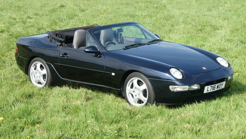 1994 Porsche 968 Cabriolet Tiptronic 42,000 miles from new F For Sale (picture 6 of 6)