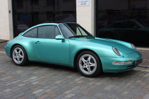 1997 Porsche 911 3.6 993 Targa 2dr FULL PORSCHE HISTORY For Sale (picture 1 of 6)
