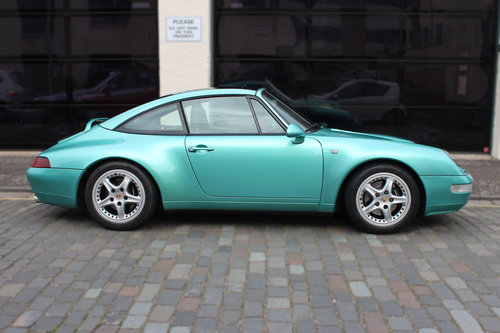 1997 Porsche 911 3.6 993 Targa 2dr FULL PORSCHE HISTORY For Sale (picture 5 of 6)
