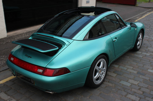 1997 Porsche 911 3.6 993 Targa 2dr FULL PORSCHE HISTORY For Sale (picture 6 of 6)