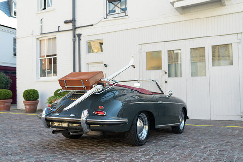 1961 Porsche 356B Drauz Roadster  For Sale (picture 3 of 6)