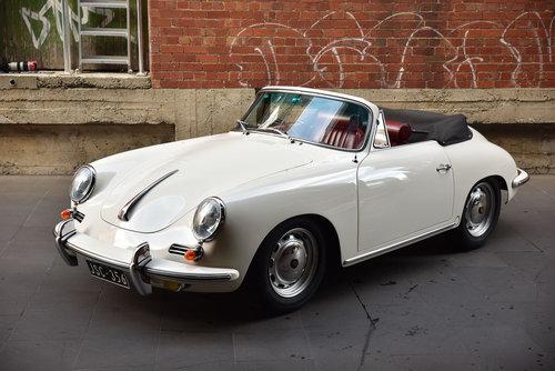 1964 Porsche 356C Cabriolet For Sale (picture 2 of 6)