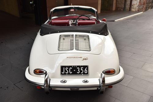 1964 Porsche 356C Cabriolet For Sale (picture 4 of 6)