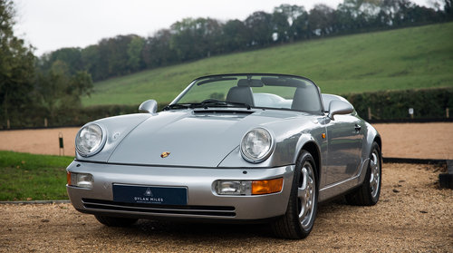 1994 Porsche 964 Speedster - C16 UK RHD - One of 14 For Sale (picture 1 of 6)
