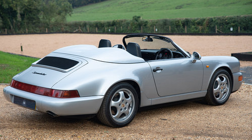 1994 Porsche 964 Speedster - C16 UK RHD - One of 14 For Sale (picture 2 of 6)