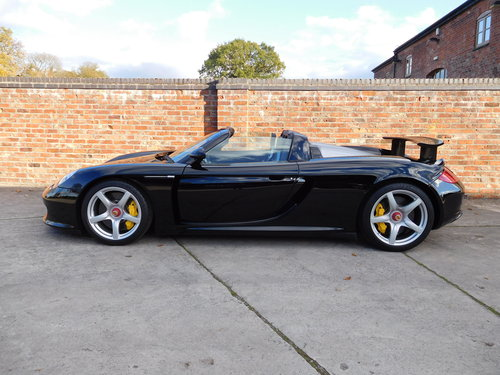 2004 Porsche Carrera GT 1,800 Miles  For Sale (picture 2 of 6)
