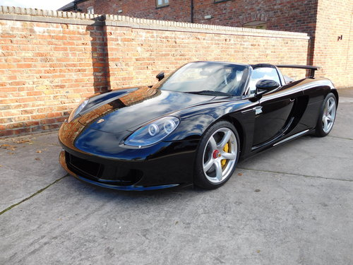 2004 Porsche Carrera GT 1,800 Miles  For Sale (picture 3 of 6)