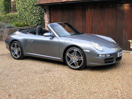 2005 Porsche 911 (997) Carrera Convertible With Turbo Alloys For Sale (picture 2 of 6)