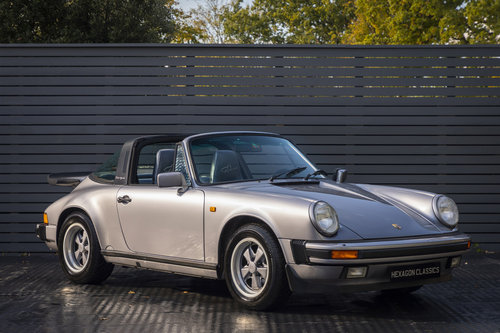 1988 PORSCHE 911 3.2 TARGA JUBILEE EDITION LHD For Sale (picture 1 of 6)