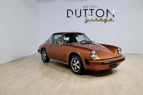1975 Porsche 911 Targa (Car in NZ) For Sale (picture 1 of 6)