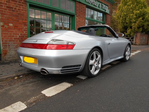 2005 Porsche 911 C4S Cabriolet Manual X51 Pack  For Sale (picture 3 of 6)
