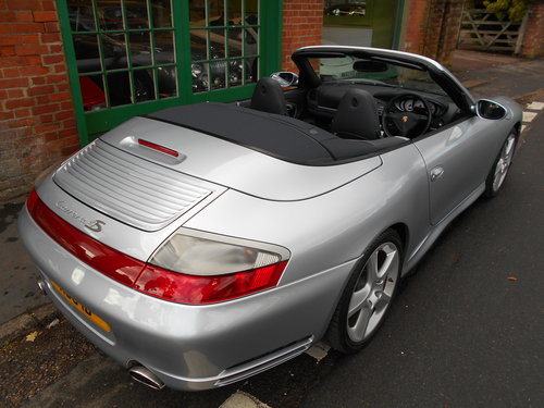 2005 Porsche 911 C4S Cabriolet Manual X51 Pack  For Sale (picture 5 of 6)
