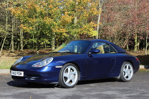 2001 PORSCHE CARRERA 4 3.4 CABRIOLET AUTO – TRIP For Sale (picture 1 of 6)