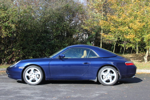 2001 PORSCHE CARRERA 4 3.4 CABRIOLET AUTO – TRIP For Sale (picture 2 of 6)