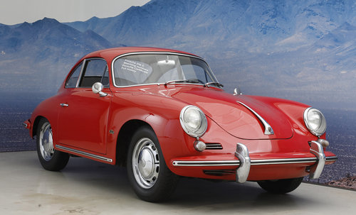 1965 Porsche 356 C 1,6 Coupe SOLD (picture 1 of 6)