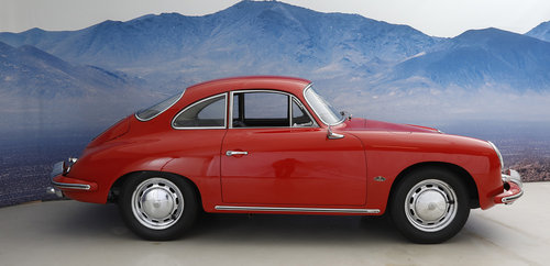 1965 Porsche 356 C 1,6 Coupe SOLD (picture 2 of 6)
