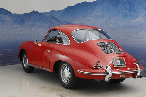1965 Porsche 356 C 1,6 Coupe SOLD (picture 3 of 6)